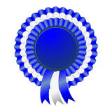 USA patriotic award ribbon rosettes Stock Photography