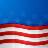 USA Patriotic Background. With copy space Stock Photography