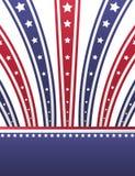 USA patriotic background Royalty Free Stock Image