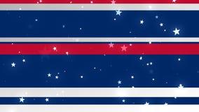 USA Patriotic Bg 2 Loopable Background stock video footage