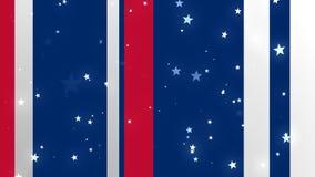 USA Patriotic Bg 1 Loopable Background stock footage