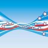 USA Patriotic stationery Stock Photo