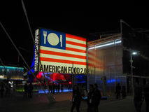 USA pavilion at EXPO, the world exposition Stock Images