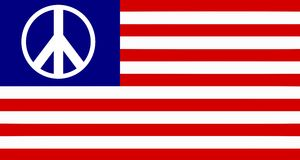 USA peace Stock Photos
