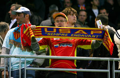 USA Perpignan's fans Royalty Free Stock Photos