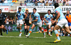 USA Perpignan's James Hook Stock Image