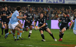 USA Perpignan vs Stade Toulousain Stock Photography