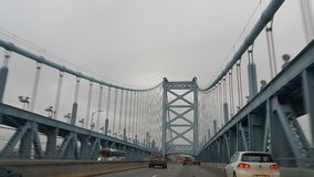 USA Philadelphia Benjamin Franklin Bridge Stock Image