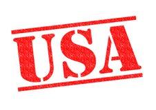 USA pieczątka Zdjęcia Stock