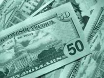 USA pieniądze tło zdjęcie stock