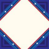 USA plakat, sztandar i szablonu projekt, Zdjęcie Royalty Free