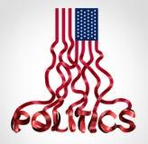 USA polityka ilustracja wektor