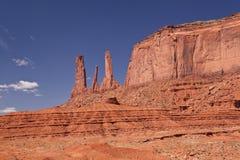 USA - Pomnikowa dolina Fotografia Royalty Free