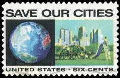 USA-portostämpel Royaltyfria Bilder