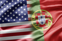 USA and Portugal Royalty Free Stock Images
