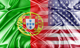 USA and Portugal Stock Photography