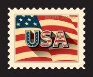 USA, postage stamp Stock Image