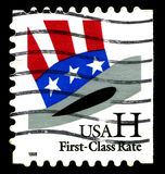 USA Postage Stamp Royalty Free Stock Photography