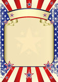 USA poster grunge Stock Photo