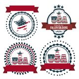 USA poster. Illustration patriot united states of america, usa poster, vector illustration Royalty Free Stock Photos