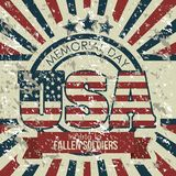 USA poster Royalty Free Stock Photography