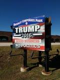 USA-Präsidentschaftswahl, Trumpf 2016, gutes Geschäft, keine Politik Stockfoto