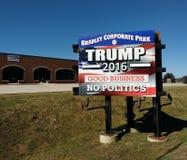 USA-Präsidentschaftswahl, Trumpf 2016, gutes Geschäft, keine Politik Lizenzfreies Stockbild