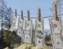 USA pranie brudnych pieniędzy Obrazy Stock
