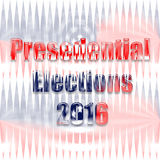USA Presedential elections Stock Photography