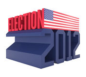 USA Presidential Election 2012 Icon Stock Photo