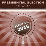 Usa Presidential Election 2016 Banner Royalty Free Stock Image
