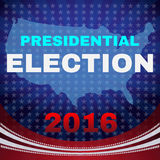 Usa Presidential Election 2016 Banner Stock Photography