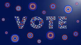 USA Presidential election Royalty Free Stock Images