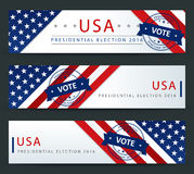 USA Presidential Election - template Royalty Free Stock Photography