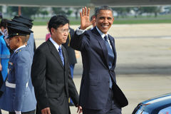 USA Prezydent Barack Obama obrazy royalty free