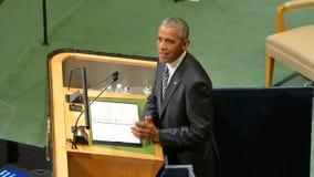 USA prezydent Barack Obama trzyma mowę zgromadzenie ogólne Narody Zjednoczone zdjęcie wideo