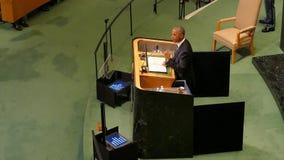 USA prezydent Barack Obama trzyma mowę zgromadzenie ogólne Narody Zjednoczone zbiory