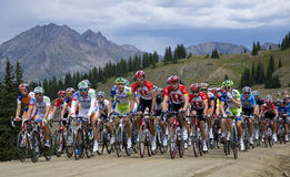 USA Pro Cycling Challenge, Cottonwood Pass Royalty Free Stock Photo