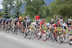 USA PRO Cycling Challenge Stage 5 cyclists Royalty Free Stock Images
