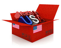 USA product Royalty Free Stock Images