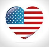 USA projekt Obraz Royalty Free