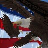 USA röstar Royaltyfria Bilder