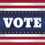 USA röstar Royaltyfri Foto