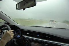 USA_RAIN ΘΥΕΛΛΑ HIGHYWAY 60 Στοκ φωτογραφία με δικαίωμα ελεύθερης χρήσης