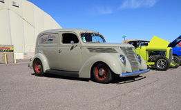 USA: Rare Antique Car - 1937 Ford Sedan Delivery Stock Image