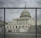 USA-Regierungs-Abschaltungs-Krise stockfotos