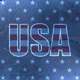 USA retro background with grunge effect for vintage design Royalty Free Stock Image