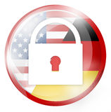 USA Round Royalty Free Stock Images