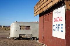USA 4031-16 Route 66, Bagdad kafé, Newberry vårar Arkivfoto