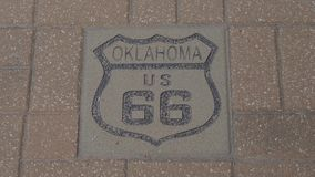 USA 66 Route 66 i Oklahoma lager videofilmer